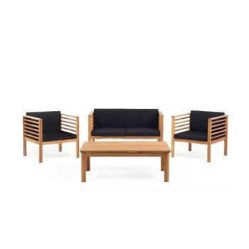 Set mobilier de grădină din lemn de acacia Monobeli Sumatra imagine