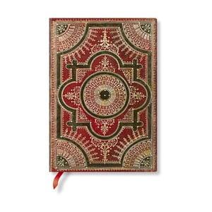 Zápisník s měkkou vazbou Paperblanks Ventaglio, 13x18cm
