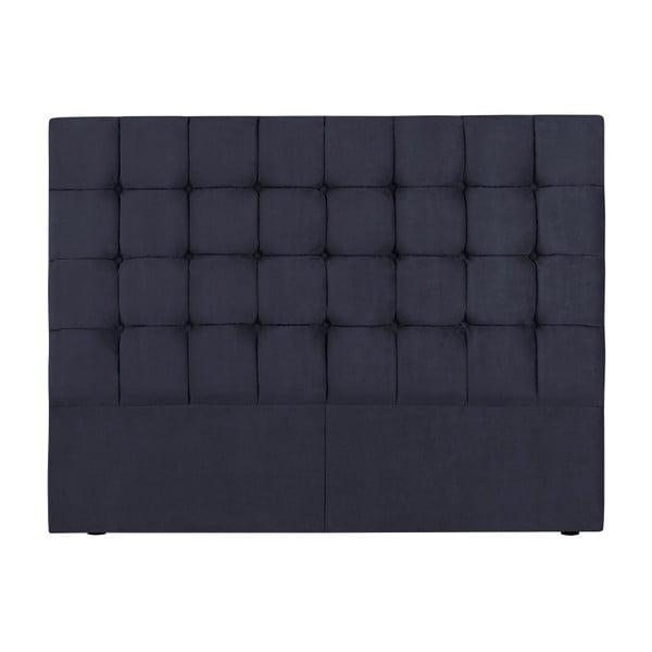 Tăblie pat Kooko Home Hasso, 120 x 140 cm, albastru închis