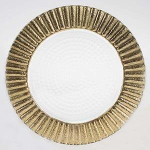 Set skleněných talířů Clear Gold, 20,5 cm, 2 ks