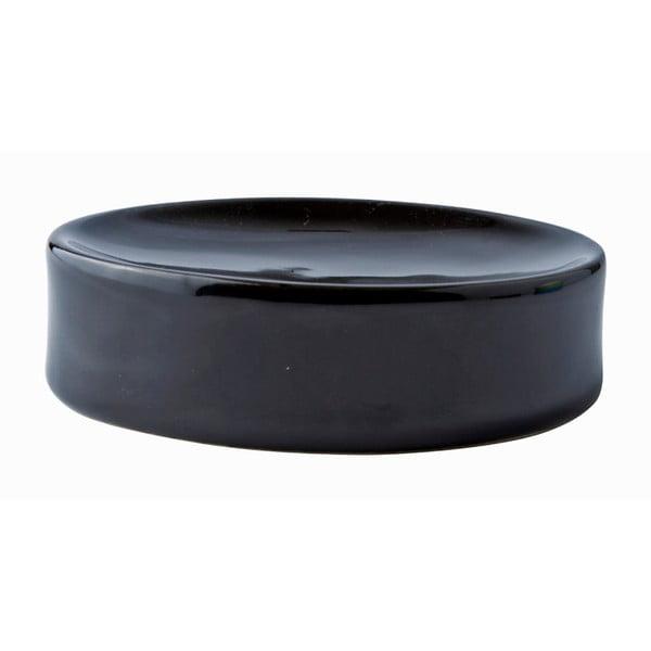 Černá miska na mýdlo Galzone