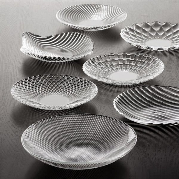 Set 2 dezertních talířů Dancing Stars - Rumba, 23 cm