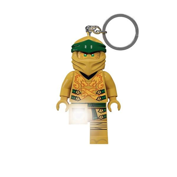 Świecący breloczek LEGO® Ninjago Legacy Gold Ninja