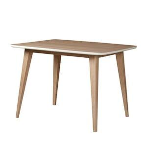 Jídelní stůl z masivního mangového dřeva Woodjam Play Light, 110 cm
