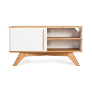 Comodă TV din lemn de pin Askala Maru, lățime 101 cm