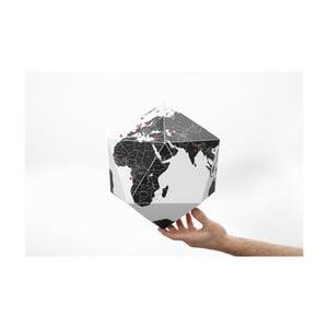 Černý skládací globus Palomar Here, 60cm