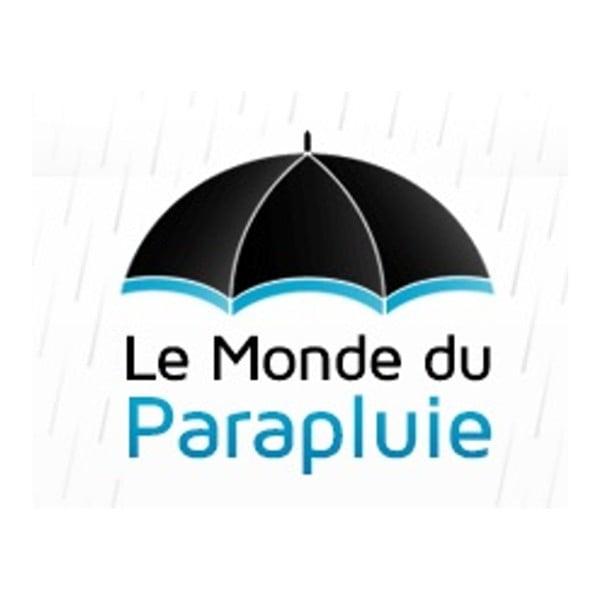 Černý golfový deštník pro dvě osoby Love Birds, délka129cm