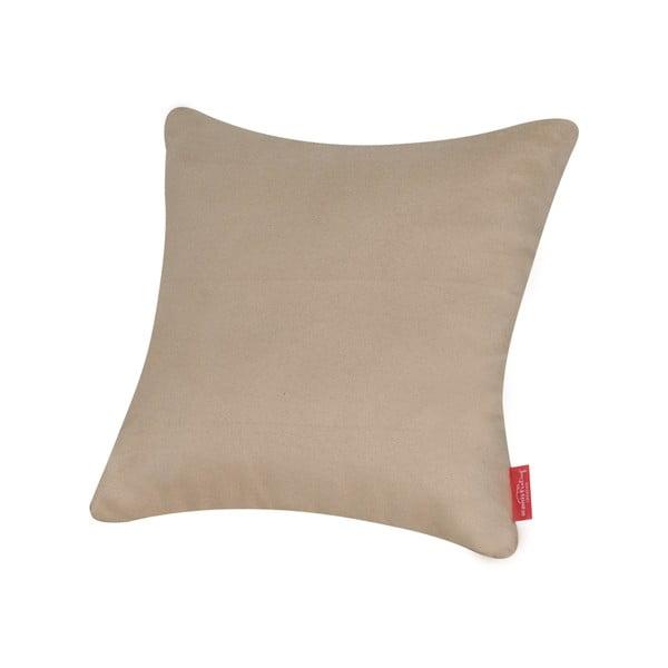 Polštář z mikrovláken Pillow 40x40 cm, máslový