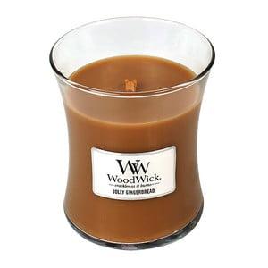 Lumânare parfumată WoodWick Turtă dulce, aromă de ghimbir și mirodenii, 60 ore