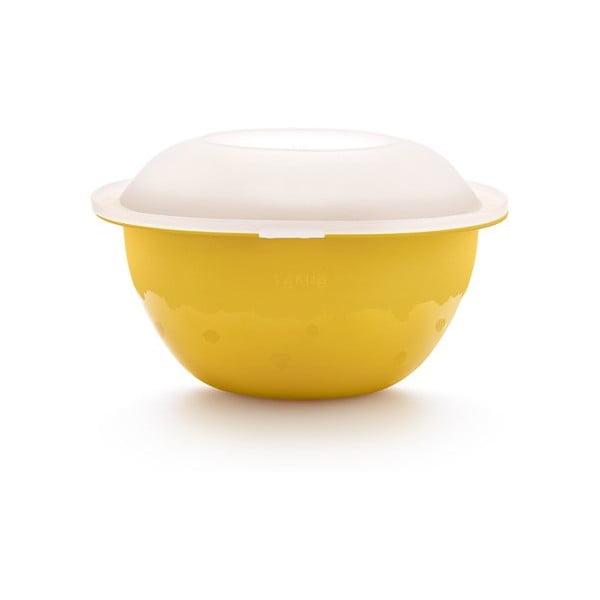 Mísa na přípravu salátu Saladshaker, žlutý