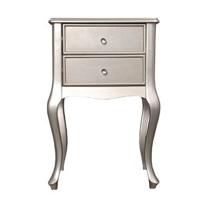 Odkládací stolek Grace Silver, 46x33x70 cm