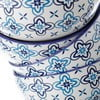 Modrobílá miska Unimasa Marocco