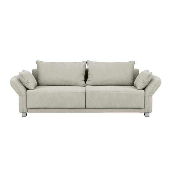 Casiopeia bézs háromszemélyes kinyitható kanapé, tárolóhellyel - Windsor & Co Sofas