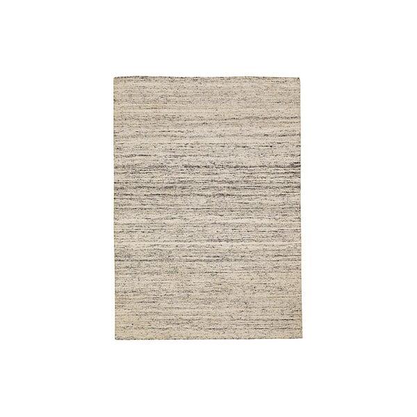 Ručně tkaný koberec Sari, 60x90 cm, smetanový