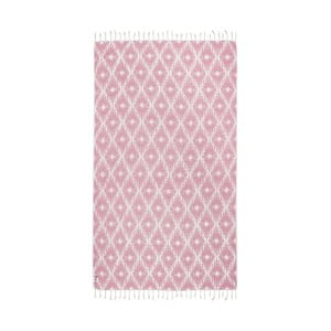 Prosop baie hammam Kate Louise Calypso, 165 x 100 cm, roz