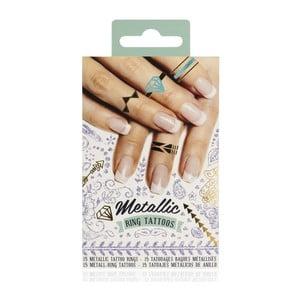 Set 15 tatuaje autocolante NPW Metallic Tattoos