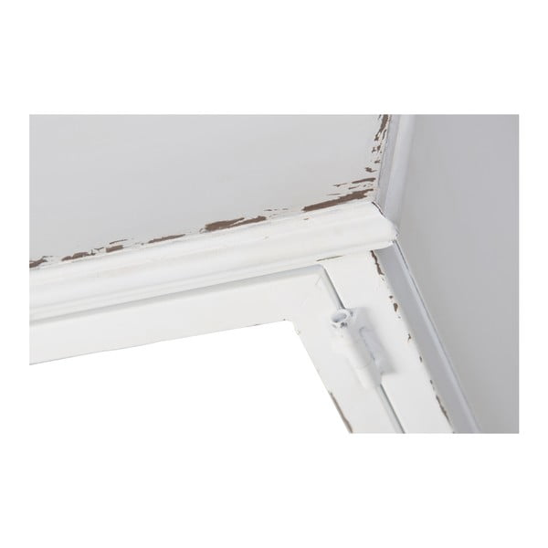 Bílá kovová vitrína De Eekhoorn Feminine