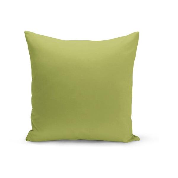 Světle zelený polštář s výplní Lisa, 43 x 43 cm