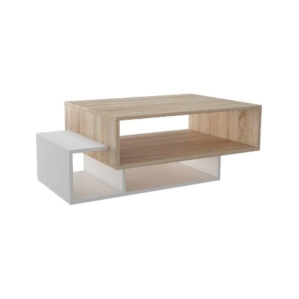 Konferenční stolek Gemini Vanilla, 100 x 60 cm