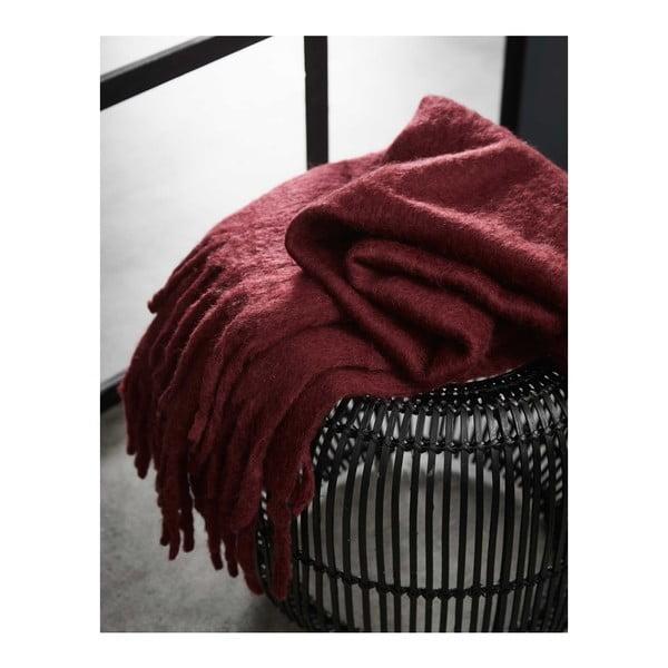 Pled Essenza Kyan, 125 x 180 cm, roșu
