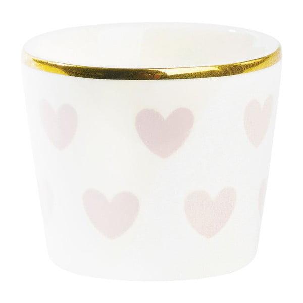 Kalíšek na vajíčka Miss Étoile  Rose Hearts
