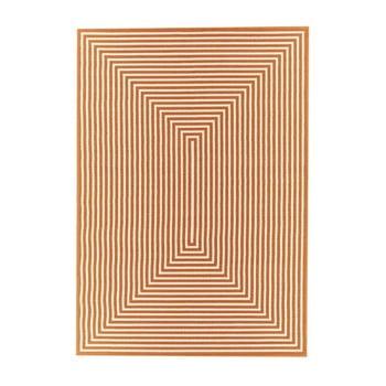 Covor adecvat pentru exterior Floorita Braid, 160x230cm, portocaliu imagine