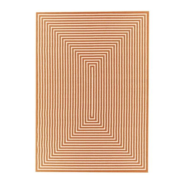 Covor foarte rezistent Floorita Braid, 133x190cm, portocaliu