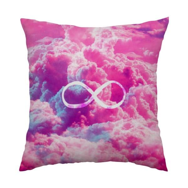 Polštář Infinity Pink, 40x40 cm
