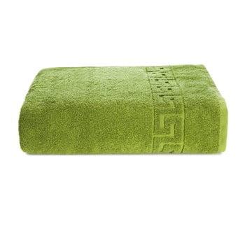 Prosop bumbac Kate Louise Pauline,70x140cm, verde de la Kate Louise