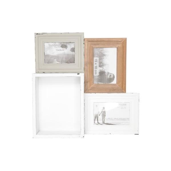 Univerzální tác/polička/fotorámeček Tray In Wood, 41x40 cm