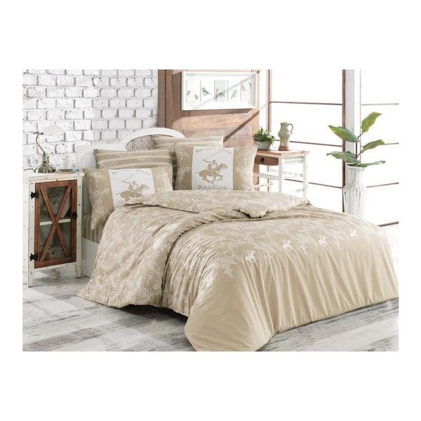 Lenjerie de pat cu cearșaf BHPC Olivia, 200 x 220 cm