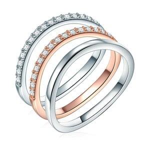 Trojitý prsten CARAT 1934 Alicia, vel. 58