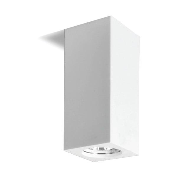 Bílé stropní svítidlo Kobi Gemma, výška 17cm