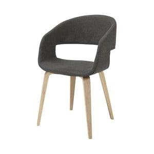 Tmavě šedá jídelní židle Interstil Nova Nature Modena