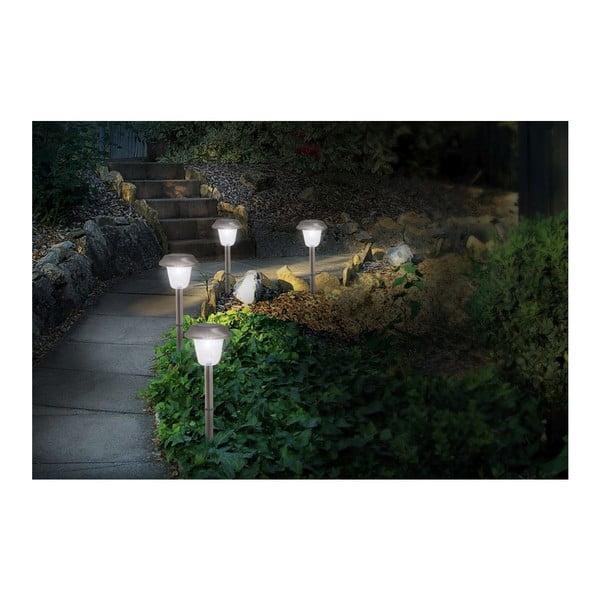 Sada 4 ks venkovních světel LED Spike