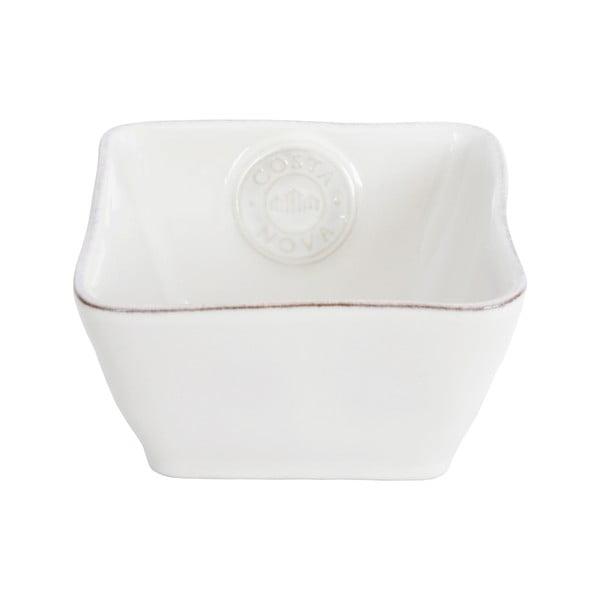 Bol din ceramică Costa Nova, 340 ml, alb