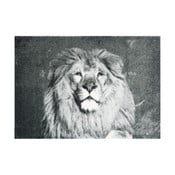 Šedá rohožka Hanse Home StateMat Lion,50x70cm