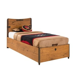 Jednolůžková postel Pirate Bed With Base, 90 x 190 cm