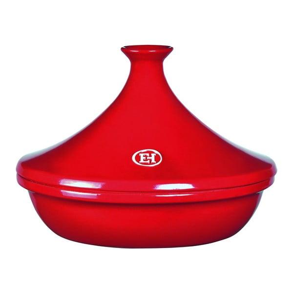 Červený hrnec Emile Henry Tajine, 32 cm
