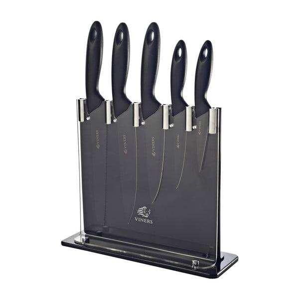 Sada 6 nožů se stojanem Silhouette