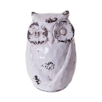 Decorațiune din ceramică Mauro Ferretti Gufo Liberte imagine