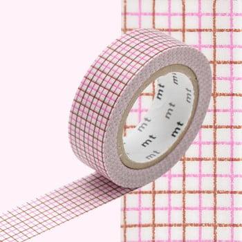 Bandă decorativă Washi MT Masking Tape Rosette, rolă 10 m imagine