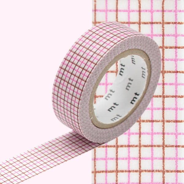 Bandă decorativă Washi MT Masking Tape Rosette, rolă 10 m