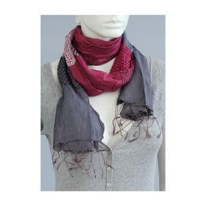 Fialový šátek