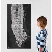 Pin City New York, černá