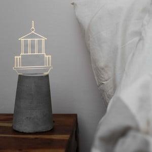 Náladové světlo Grey Lighthouse