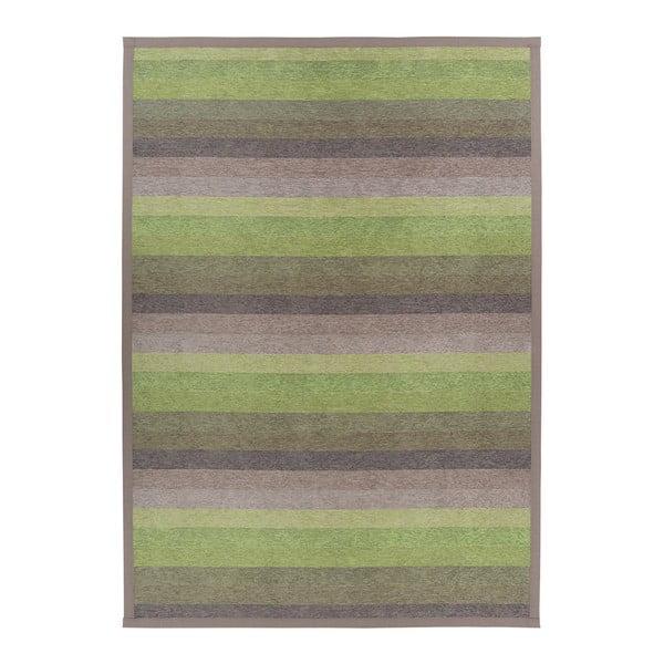 Zelený vzorovaný oboustranný koberec Narma Luke, 160 x 230cm