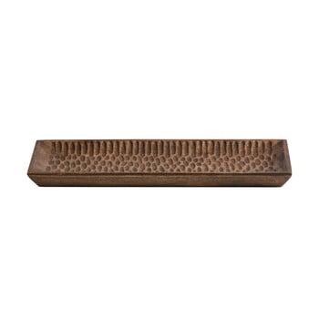 Tavă din lemn WOOOD Devan, 35 x 15 cm