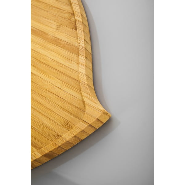 Bambusový servírovací podnos Bambum Amor, 27 cm