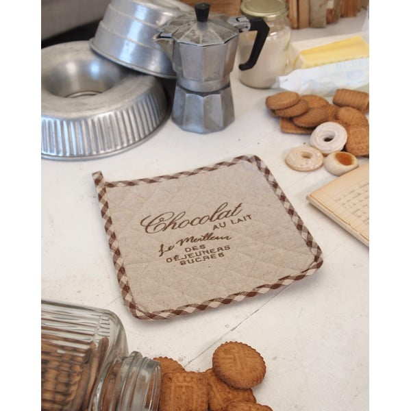 Kuchyňská chňapka Chocolate Ecru